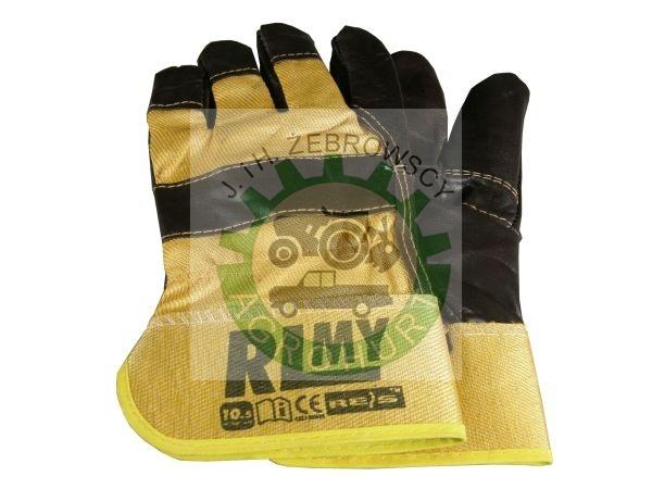 9a0310ad000d4c Rękawice robocze ochronne wzmocnione skórą licową RL